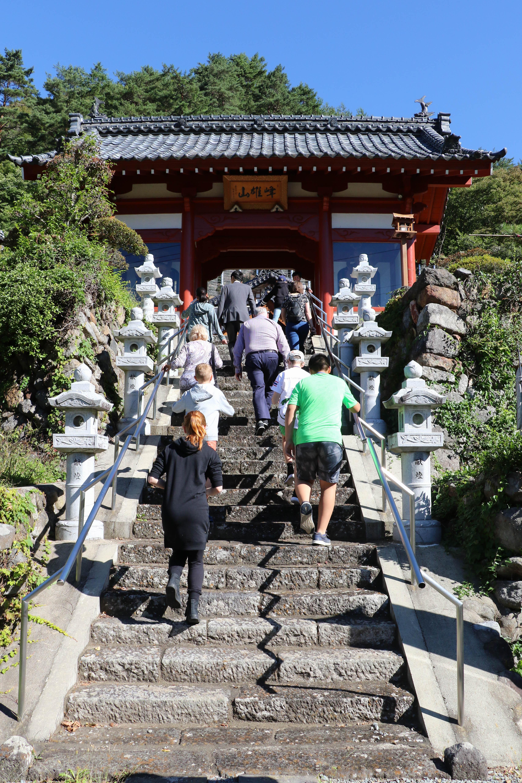 Visit to Shrine in Japan